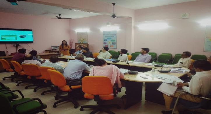 Meeting by CE UGBO with Special Relief Commissioner